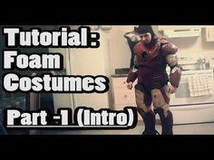 TUTORIAL - Using PEPAKURA for FOAM Costume Building - Part 1 - Materials Needed -INTRO