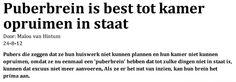 """In De Correspondent van 13 feb 2014 schrijft Johannes Visser in het artikel Noem leerlingen studenten: """"Laat de universiteit niet schoolser worden, maar het middelbaar onderwijs […] meer universita..."""