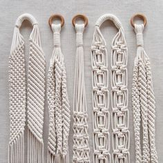 Our plant hangers collection knotted with love poemoknots lovingthepoetryofeverydaylife Macrame Hanging Planter, Macrame Plant Holder, Macrame Plant Hangers, Macrame Bag, Macrame Curtain, Macrame Design, Macrame Tutorial, Macrame Projects, Macrame Patterns