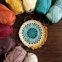 Crochet Blocks, Crochet Blanket Patterns, Crochet Motif, Crochet Yarn, Knitting Patterns, Afghan Patterns, Knitting Projects, Crochet Projects, Knitting Room