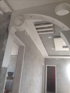 Gypsum Ceiling Design, House Ceiling Design, Ceiling Design Living Room, Bedroom False Ceiling Design, House Arch Design, Room Door Design, Floor Design, Wall Design, Arcade Architecture
