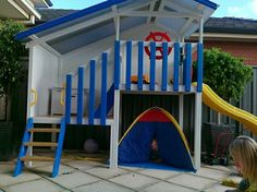 boys cubby house