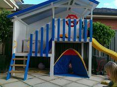 boys cubby house
