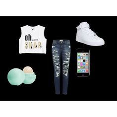Oh snap... my outfit by karoinesommerfugl11 on Polyvore featuring Monki, Current/Elliott, NIKE and Eos