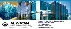 Al Watan Aluminum and Glass in Doha, Qatar For more information:- http://www.ezyqatar.com/business_details/MTU4MDg=