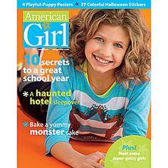 American Girl® Bookstore: American Girl Magazine: September/October Single Issue