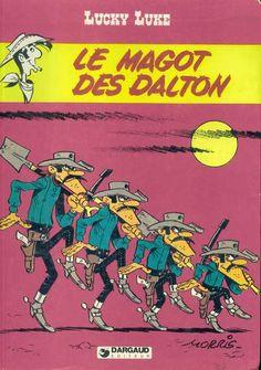 [link] Le Magot des Dalton est la soixante-seizième histoire de la série Lucky Luke par Morris et Vicq. Elle est publiée pour la première fois dans le journal VSD, puis est publiée en album en 1980 aux éditions Dargaud. https://fr.wikipedia.org/wiki/Le_Magot_des_Dalton