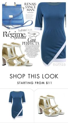 """""""Bussines Women"""" by vanjazivadinovic ❤ liked on Polyvore featuring Whiteley, Dolce&Gabbana, Anja, polyvoreeditorial, Poyvore and twinkledeals"""