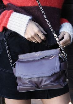 A chain strap can make all the difference on a bag.