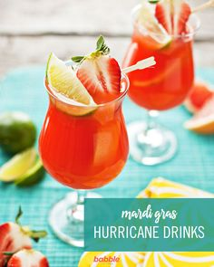 Hurricanes for Mardi Gras: Virgin and Otherwise