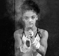 Laurie Hernandez... Fierce!!!                                                                                                                                                     More