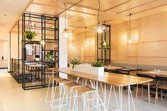 Hutch & Co. Restaurant Cafe by Biasol: Design Studio, image: Ari Hatzis