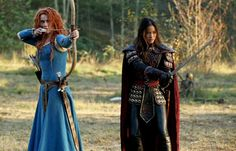 Once Upon A Time (@OnceABC) | Twitter , get ready! Merida, Mulan & Red Riding Hood Storm Camelot on #OnceUponATime