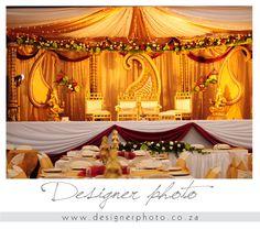 Gorgeous mandap    Photo credit: wedding photography by designer photo, indian wedding, indian bride