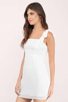White Dresses, Tobi, Ivory Made To Be Yours Bodycon Dress