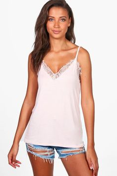 1ed27da416b90 Click here to find out about the Tall Lace Insert Cami from Boohoo