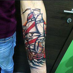 Quando l'old school diventa leggenda.. Potrete trovare questo artista italiano tutti i giorni al Subliminal Tattoo . Tattoo Artist : Il Corra  Tatuaggi traditional http://www.subliminaltattoo.it/prodotto.aspx?pid=08-TATTOO&cid=18  #subliminaltattoofamily   #corradocarnevali   #tradizionale   #oldschooltattoo   #tatuaggio   #tattoomonza   #veliero   #skullrokkabilly   #squalo   #tattoo   #tatuaggio   #tattooartist