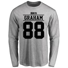 Garrett Graham Player Issued Long Sleeve T-Shirt - Ash