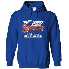 I am a Spencer - #shirt for teens #tshirt pattern. GET YOURS => https://www.sunfrog.com/Names/I-am-a-Spencer-9690-RoyalBlue-17889530-Hoodie.html?68278