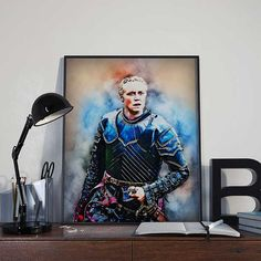 Brienne of Tarth  Game of Thrones Art Print Poster by BlackSailsUK