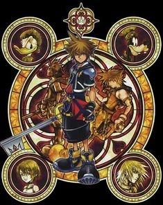 Cross Stitch Pattern for Kingdom Hearts by TheStitchingGirl, $5.00