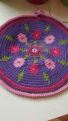 CraftsbyManon: Mochila Bag - Flower