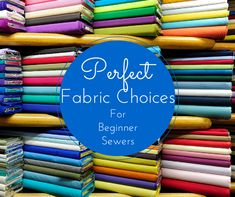Not sure how to pick the right fabric for your sewing project? This is a huuuge problem for beginners but luckily it's easily solved. Learn the do's and don'ts for picking fabric.