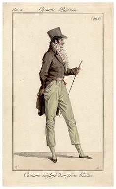 c.1802 costume parisien. 494
