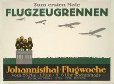 Airplane for the first time, Flightweek Johannisthal Airfield, Berlin (1910) | von Susanlenox
