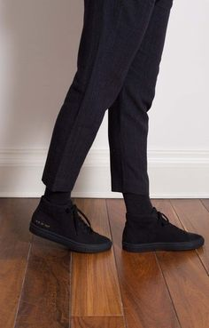 Common Projects, Achilles, Everyday Objects, Men's Fashion, Footwear, Pure Products, Stylish, Leather, Pants