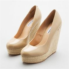 Steve Madden. Perfect summer wedge! I would wear these everywhere!!!