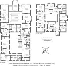 Awesome 10 Bedroom House Floor Plans - New Home Plans Design House Plans Uk, House Plans Australia, Florida House Plans, Vintage House Plans, Bungalow House Plans, House Floor Plans, 2 Bedroom House Design, Four Bedroom House Plans, 5 Bedroom House Plans