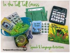 SLP Activities of the Week: For In The Tall, Tall Grass - pinned by @PediaStaff – Please Visit ht.ly/63sNtfor all our pediatric therapy pins
