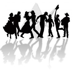 line dancing Clip Art | Country Line Dancing Clipart A ...