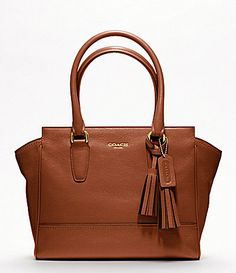 COACH LEGACY LEATHER CANDACE CARRYALL #Dillards