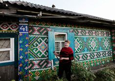Russian Pensioner Decorates her House with 30,000 Bottle Caps   Bored Panda