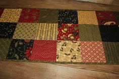 Hey, I found this really awesome Etsy listing at https://www.etsy.com/listing/157435580/christmas-medley-quilted-table-runner