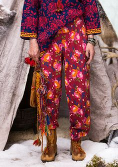 """""""Lappros"""" eco-cotton pants – My own Sami origins – GUDRUN SJÖDÉN – Webshop, mail order and boutiques 