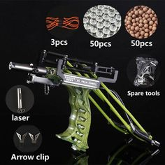 Laser Slingshot Strong Slingshot Catapult With Arrow Clip Hunting caza Powerful Pocket Slingshot, Slingshot Fishing, Fishing Reels, Fishing Tackle, Fishing Tips, Arrow Slingshot, Fishing Quotes, Green Arrow Bow, Sling Bow