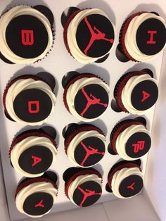 Michael Jordan Cupcakes Auckland Food and Drinks Pinterest