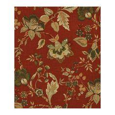 Robert Allen Vibrant Scene Saffron Fabric