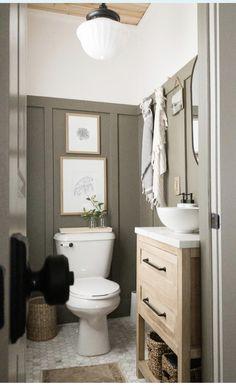 Upstairs Bathrooms, Downstairs Bathroom, Bathroom Renos, Dream Bathrooms, Bathroom Interior, Small Bathroom, Washroom, Bathroom Inspiration, Home Decor Inspiration