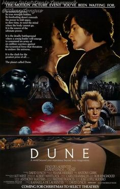 Dune (1984) - A Duke's son leads desert warriors against the galactic emperor and his father's evil nemesis when they assassinate his father and free their desert world from the emperor's rule.
