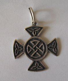 Celtic cross #silver #pendant