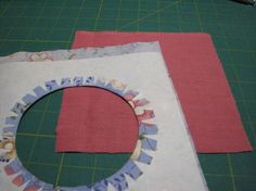 Awesome tip for sewing circles or curves. I learned this from Dale Fleming on The Quilt Show years ago. Tip, you can iron the glued areas with a pressing sheet, so no waiting. School Glue is just starch, so it washed out safely.
