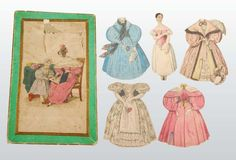 Lot of  Psyche  Boxed Paper Doll.