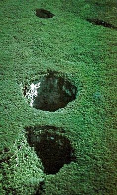 linked to largest and most impressive sink holes of the world...cool and scary