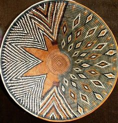 "African Basket by "" Kovango Weavers """