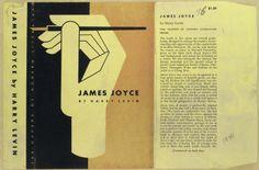 James Joyce book cover. (1941)