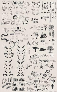 The Freakin' Big Illustration Pack by Brandi Lea Designs on Creative Market